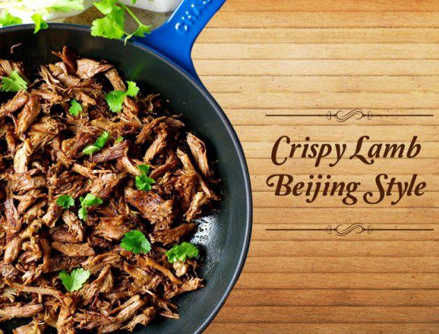 crispy lamb beijing style recipe @TheRoyaleIndia
