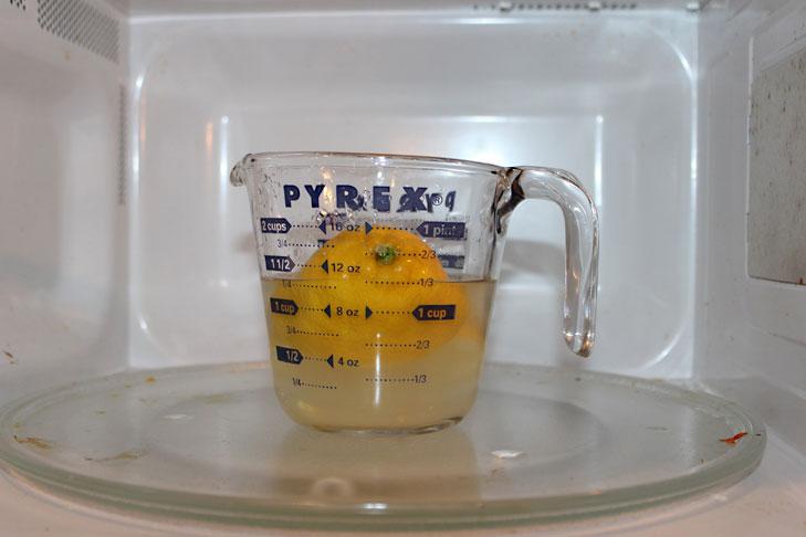 deodourise microwave lemon @TheRoyaleIndia
