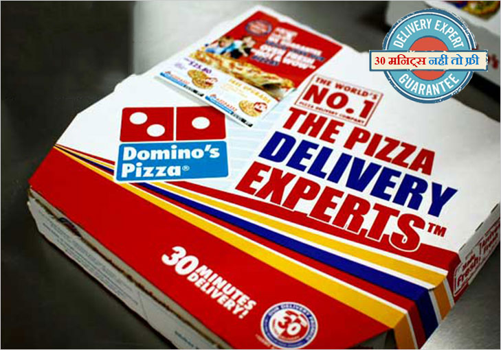 dominos 30 minutes delivery @TheRoyaleIndia