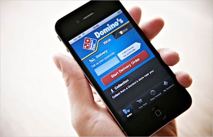 dominos mobile app @TheRoyaleIndia