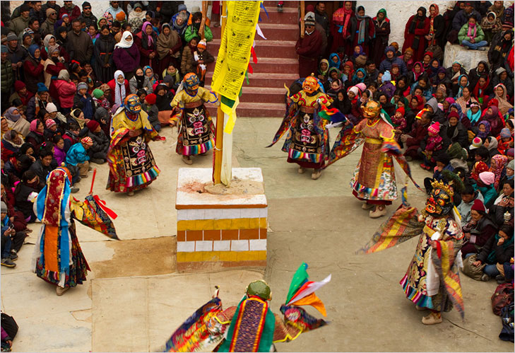 festival colourful ladakh @TheRoyaleIndia