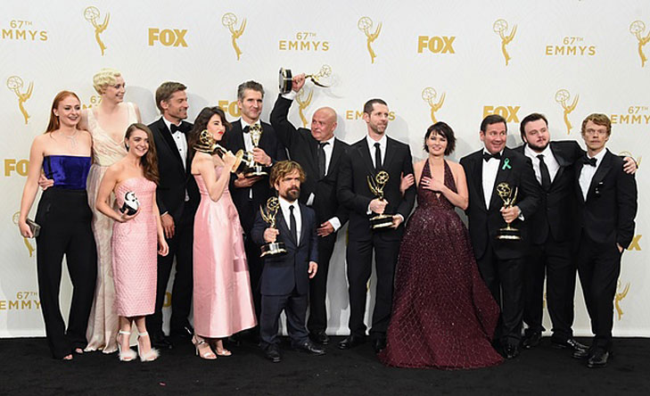 Game of Thrones Best Drama Series Emmy Awards 2015 @TheRoyaleIndia