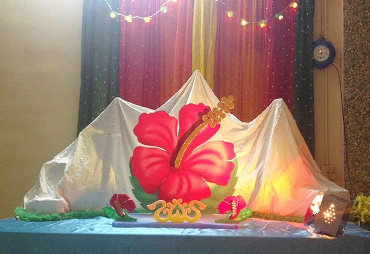 Ganesh Chaturthi Decorations Thermocol Images Galleries With A Bite