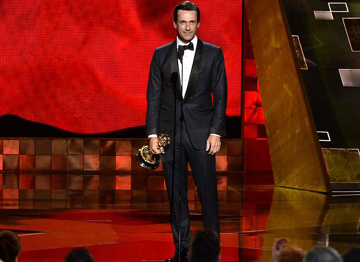 Jon Hamm Emmy Awards 2015 @TheRoyaleIndia