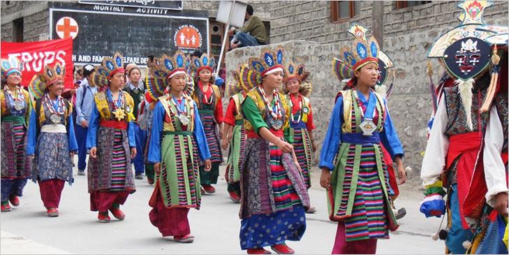 ladakh festival inauguration @TheRoyaleIndia