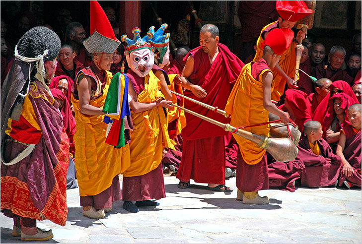 ladakh festive celebration @TheRoyaleIndia