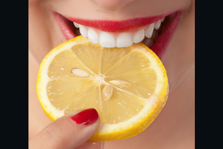 lemon brighten teeth @TheRoyaleIndia