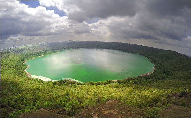 lonar crater lake @TheRoyaleIndia
