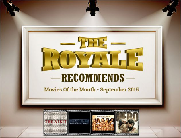 Movies in The month of september 2015 @TheRoyaleIndia