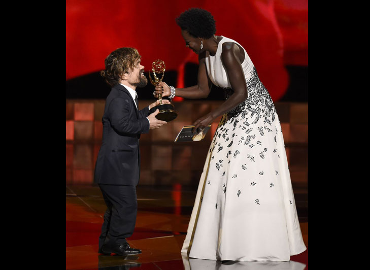 Peter Dinklage Emmy Awards 2015