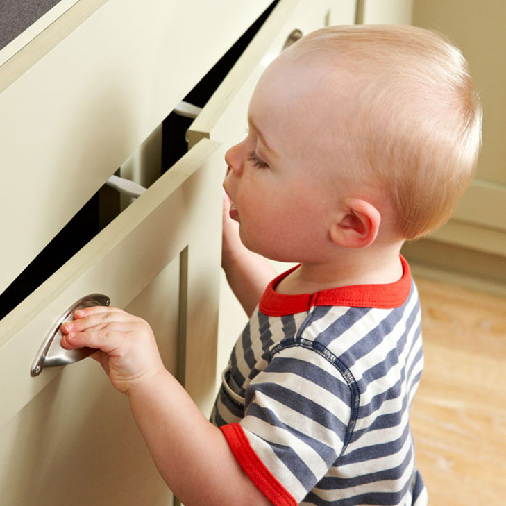 safety latches on cabinet @TheRoyaleIndia
