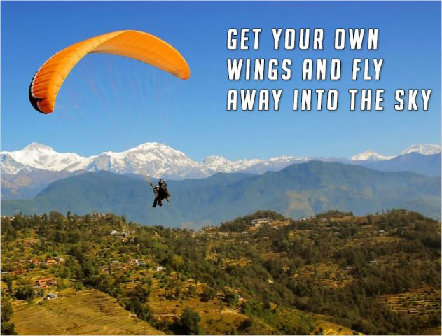 best paragliding sites in india @TheRoyaleIndia