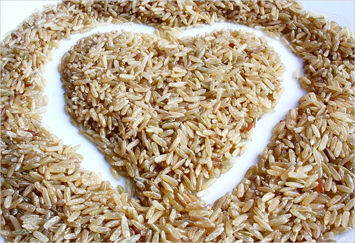 brown rice heart @TheRoyaleIndia