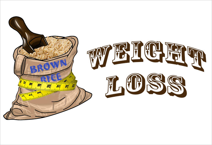 brown rice weight loss @TheRoyaleIndia