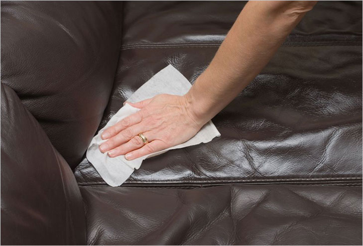 Cleaning Leather Furniture @TheRoyaleIndia