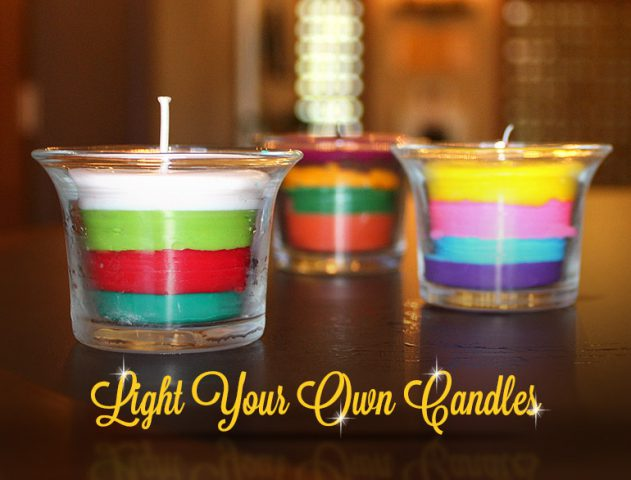 Diy creative candle ideas to light up your home this diwali the royale 3 diy candle ideas to light up your home this festive season solutioingenieria Image collections