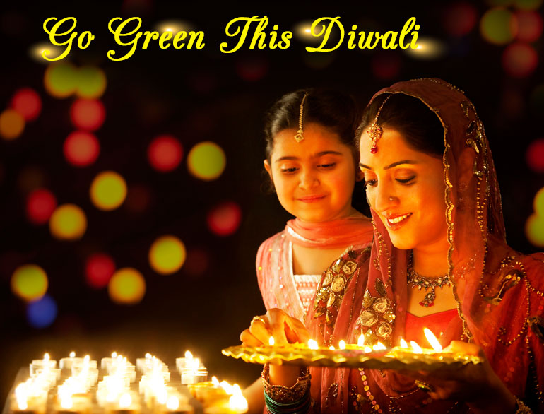 How to celebrate eco-friendly diwali @TheRoyaleIndia