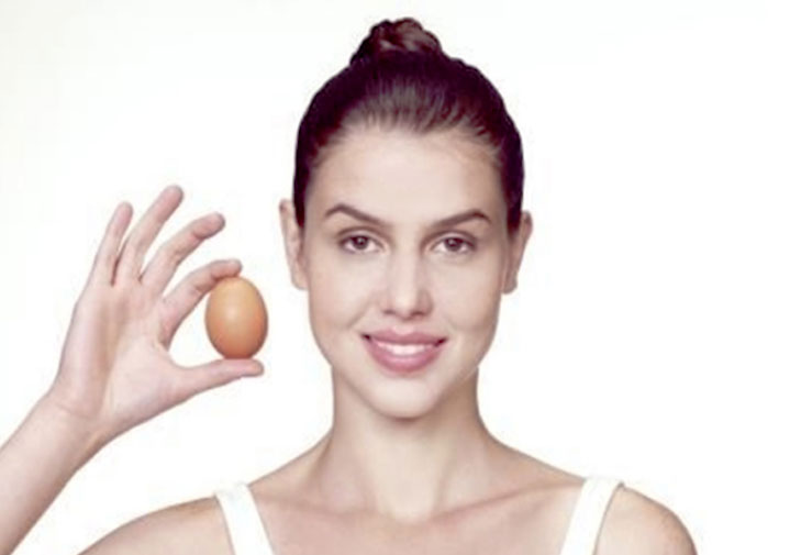 egg white skin toning @TheRoyaleIndia