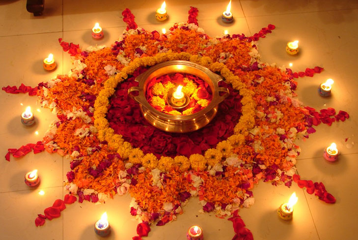 flower diwali @TheRoyaleIndia