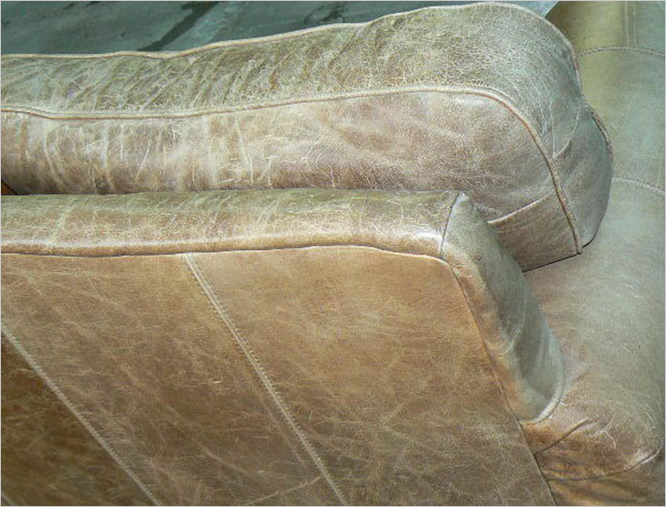 Faded Leather Furniture @TheRoyaleIndia