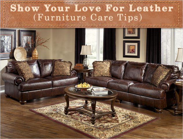Leather Furniture Care Tips @TheRoyaleIndia