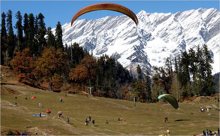 manali paragliding @TheRoyaleIndia