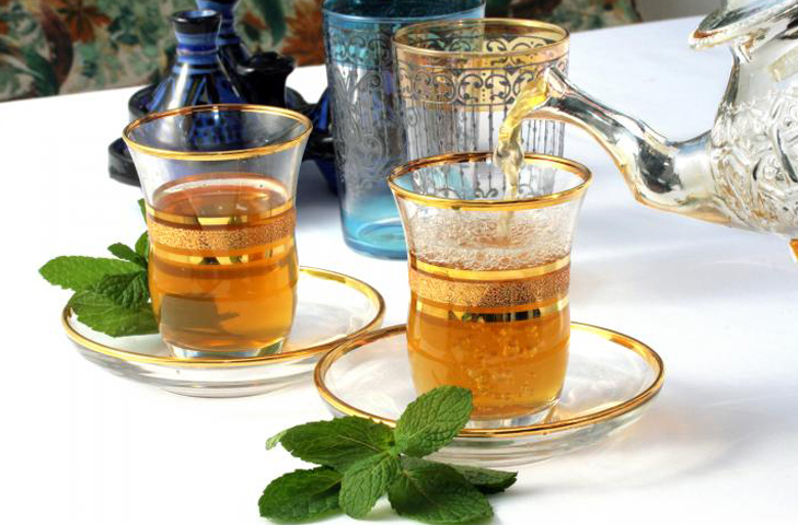 moroccan mint tea @TheRoyaleIndia