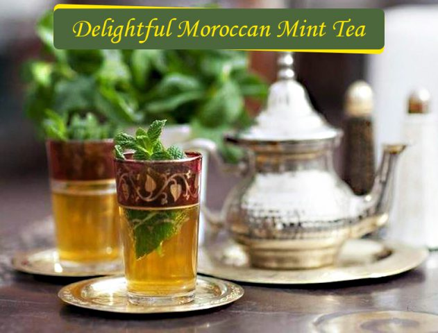Moroccan mint tea recipe gunpowder @TheRoyaleIndia