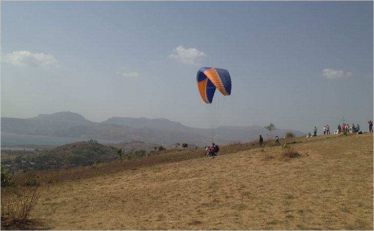 paragliding kamshet maharashtra @TheRoyaleIndia