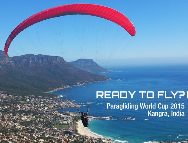 Paragliding World Cup 2015 India @TheroyaleIndia