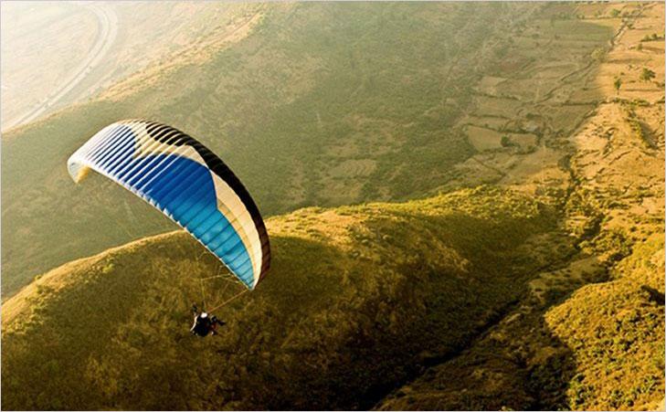 paragliding yelagiri @TheRoyaleIndia