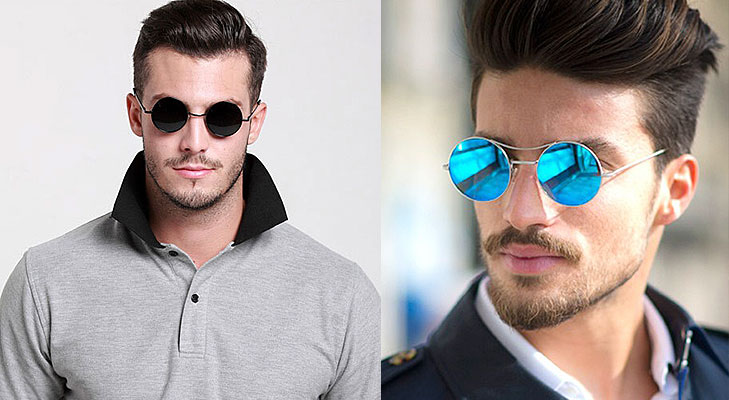 round sunglasses for men @TheRoyaleIndia