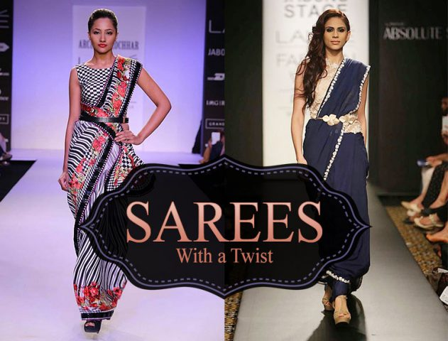 saree draping styles @TheRoyaleIndia