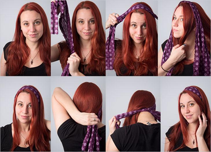 scarf headband @TheRoyaleIndia
