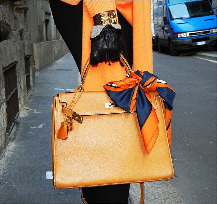 scarf tied handbags @TheRoyaleIndia