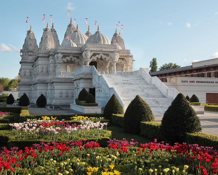 baps akshardham london @TheRoyaleIndia