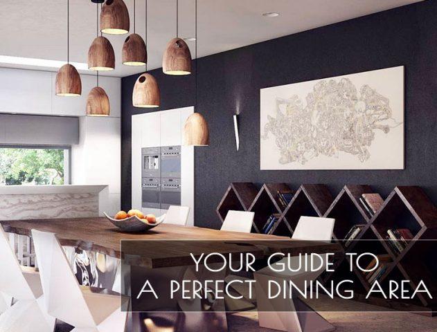 dining area design ideas @TheRoyaleIndia