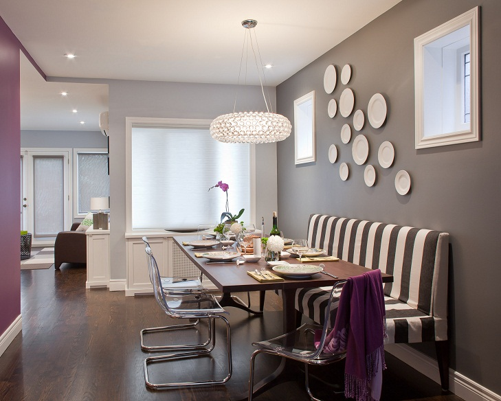 Dining area design ideas the royale for Dining area wall decor ideas