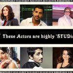 11 Actors of Bollywood You Never Knew Loved Studies