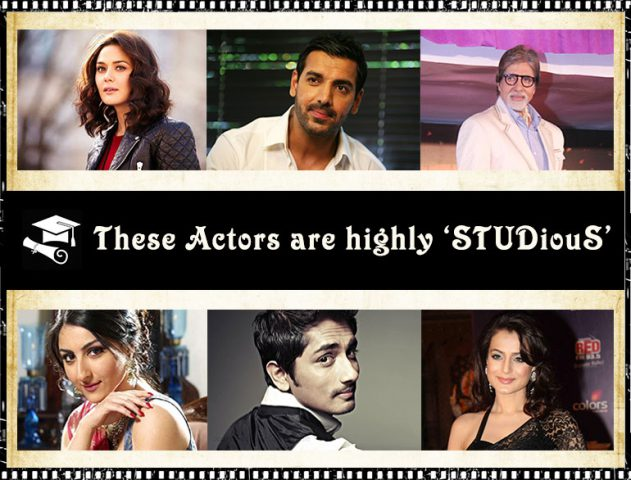 Bollywood Actors Degree @TheRoyaleIndia