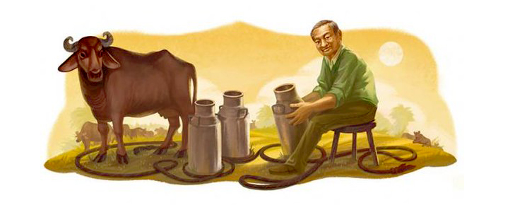 google doodle verghese kurien @TheRoyaleIndia