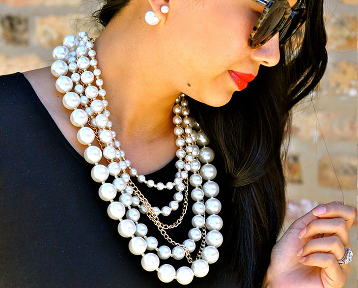 layering pearls @TheRoyaleIndia
