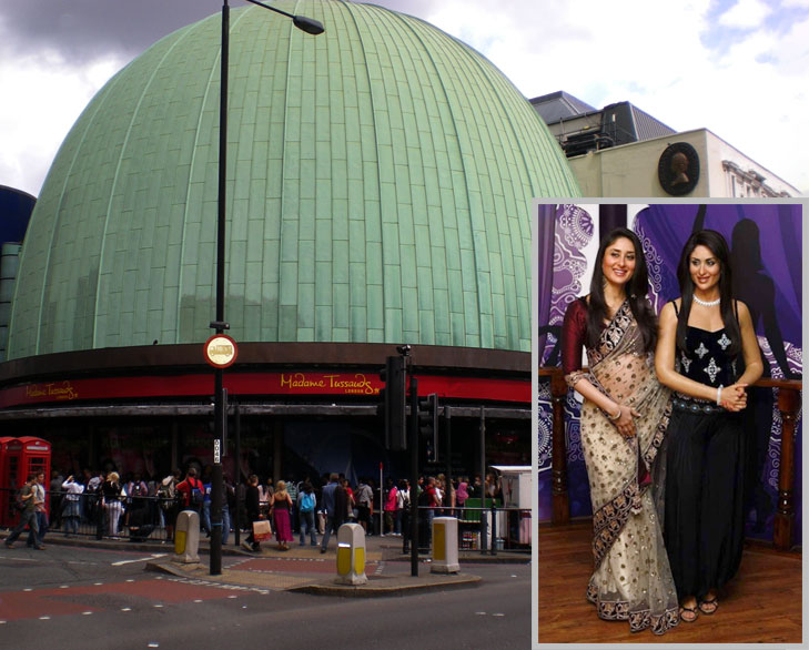 madame tussaud museum london @TheRoyaleIndia