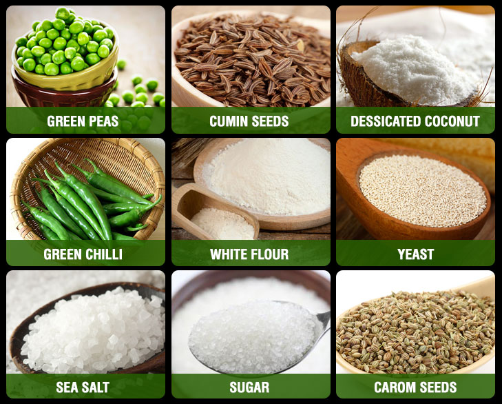 matar karanji ingredients @TheRoyaleIndia