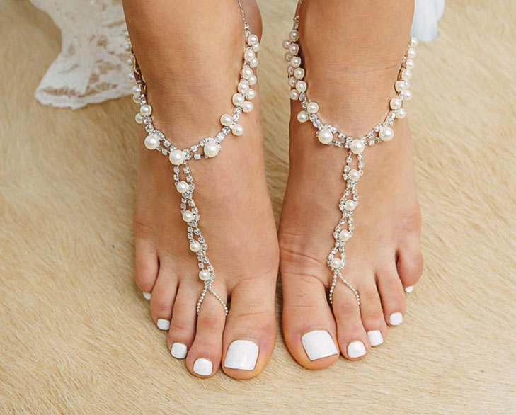 pearl anklet @TheRoyaleIndia