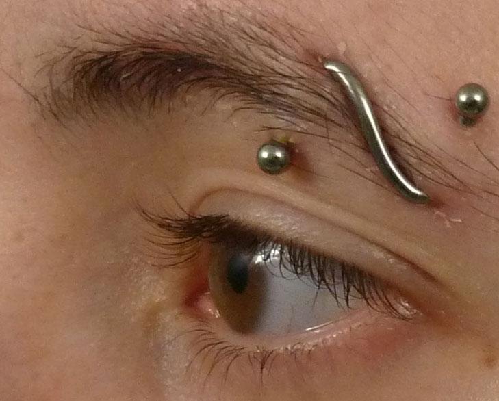 pearl eyebrow piercing @TheRoyaleIndia
