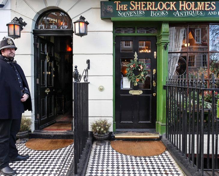 sherlock holmes museum london @TheRoyaleIndia