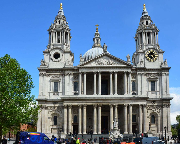 st _paul cathedral london @TheRoyaleIndia