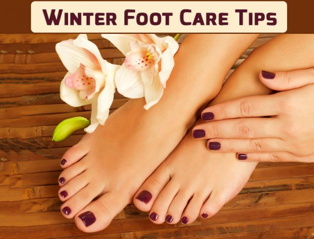 winter foot care tips @TheRoyaleIndia