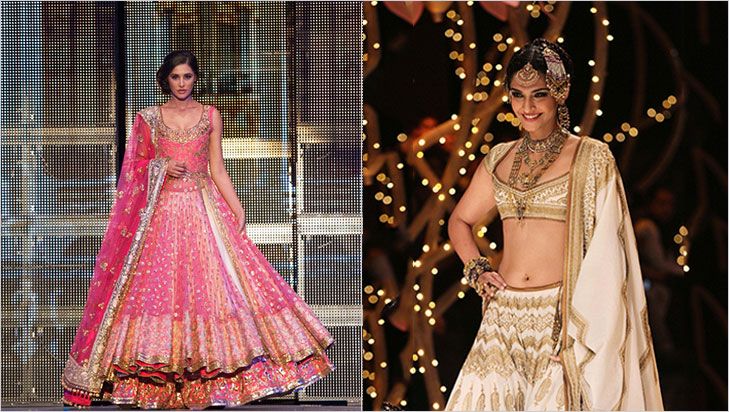 Bridal lehenga rectangular body @TheRoyaleIndia